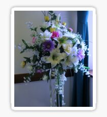 Ethereal Flower Display Sticker