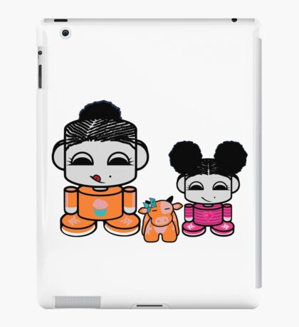 Nom Yum and Jo O'BABYBOT Toy Robots (and Free) iPad Case/Skin