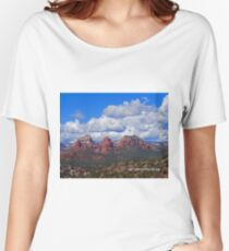Sedona Mountains Women's Relaxed Fit T-Shirt