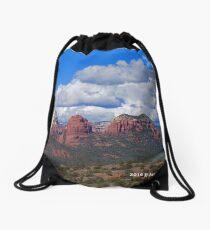 Sedona Mountains Drawstring Bag