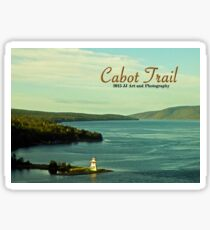 Cabot Trail Lighthouse Nova Scotia Sticker