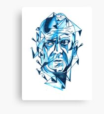 Bruce Willis is my homeboy ( light colors) Canvas Print
