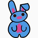 Pocket the Bunny  by Carbon-Fibre Media