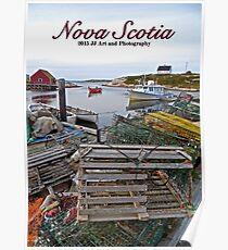 Nova Scotia - Peggy's Cove Harbor Poster