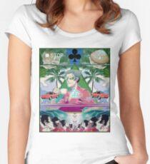 KaikiKane Women's Fitted Scoop T-Shirt