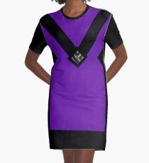 You + Royal Purple Graphic T-Shirt Dress