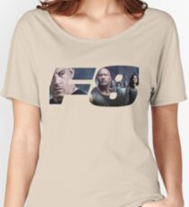 Fast 8 logo Women's Relaxed Fit T-Shirt