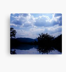 The Lakes View Canvas Print