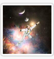 MILEY IN DA SPACE Sticker