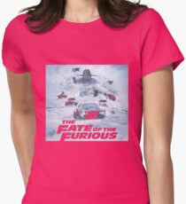 Fast 8 The Movie Womens Fitted T-Shirt