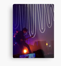 Alex Turner Feels Metal Print