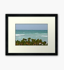 Gulf of Mexico sailing Framed Print