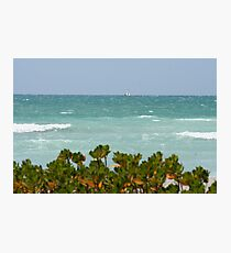 Gulf of Mexico sailing Photographic Print