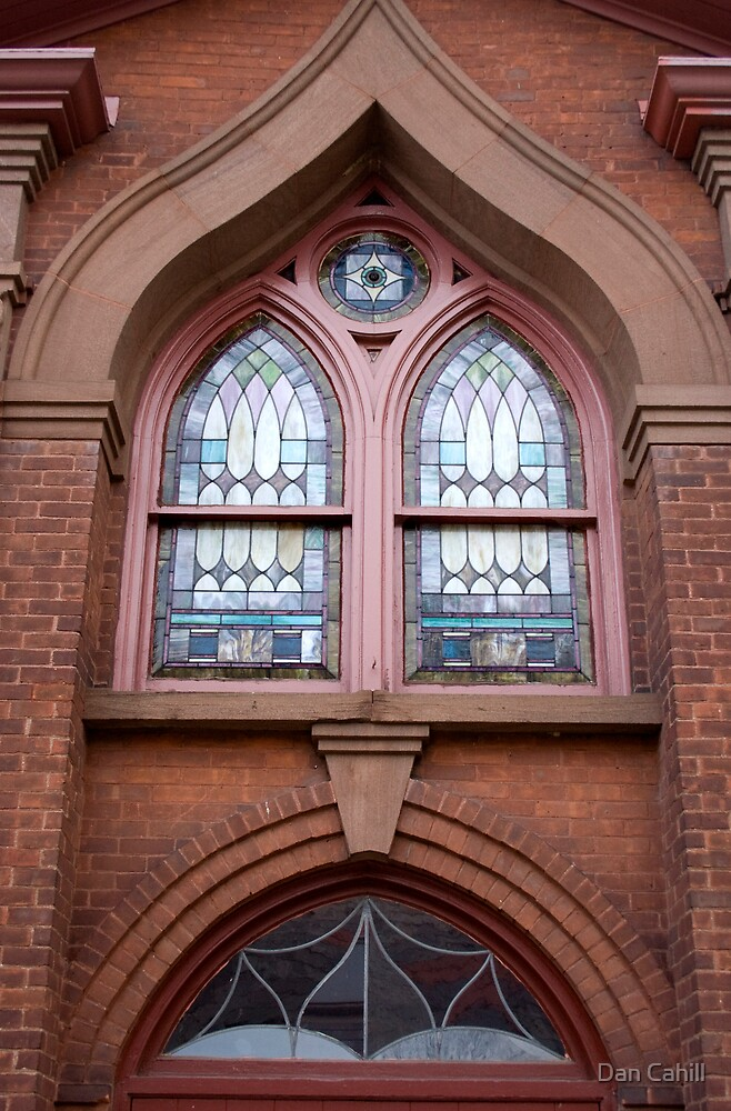 Stained Glass Beauty in Naugatuck by Dan Cahill