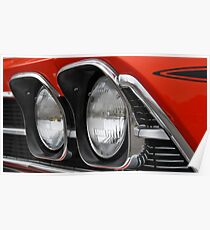 Chevelle Headlights Poster
