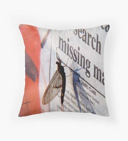 Today's News Throw Pillow