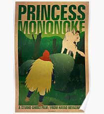 Princess Mononoke - Day Poster