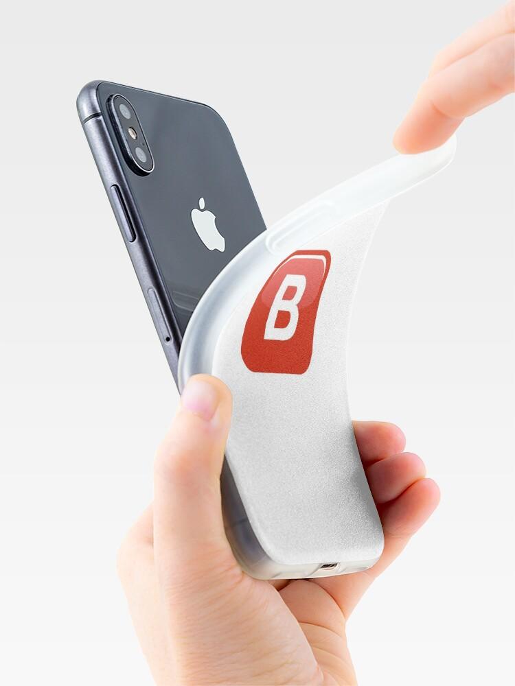 Vista alternativa de Funda y vinilo para iPhone B Emoji