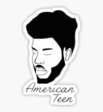 Khalid American Teen Sticker