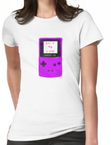color my world purple Womens Fitted T-Shirt