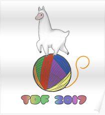 alpaca yarn Poster