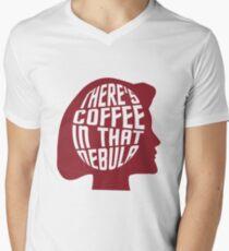 Trek Silhouettes - Janeway Men's V-Neck T-Shirt