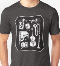 Be Bop Jazz Jam Session, Daddy-O! Unisex T-Shirt