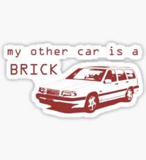 My Other Car is a Brick - 850 Wagon Sticker