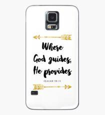Isaiah 58:11 Bible Verse Case/Skin for Samsung Galaxy