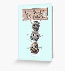 You Rock! Card or Gift Greeting Card