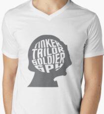 Trek Silhouettes - Garak Men's V-Neck T-Shirt