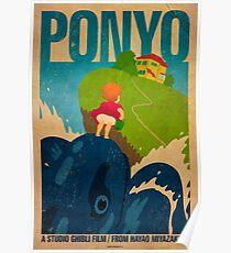 Póster Ponyo