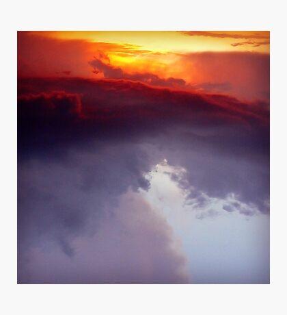 Fire.Ocean.Sky Photographic Print