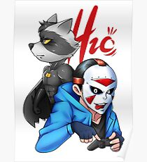 H2o & Batcoon Squad 2 Poster