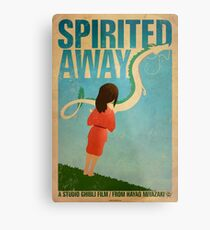Spirited Away Metal Print