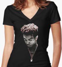 XXXtentacion Dark Swag Women's Fitted V-Neck T-Shirt