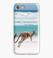 Kangaroos at Lucky Bay iPhone Case/Skin