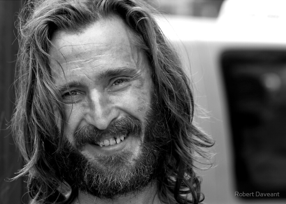 Homeless Man by Robert Daveant