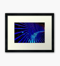 """""""The Thin Blue Lines"""" Framed Print"""