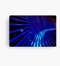 """""""The Thin Blue Lines"""" Canvas Print"""