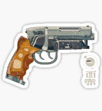 Blaster Sticker