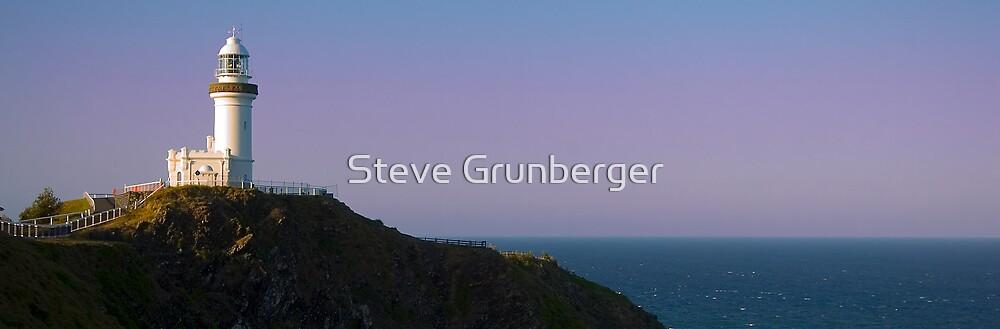 Byron Bay Lighthouse by Steve Grunberger