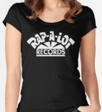 Rap-A-Lot Records Women's Fitted Scoop T-Shirt