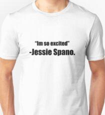 """I'm so excited"" -Jessie Spano Unisex T-Shirt"