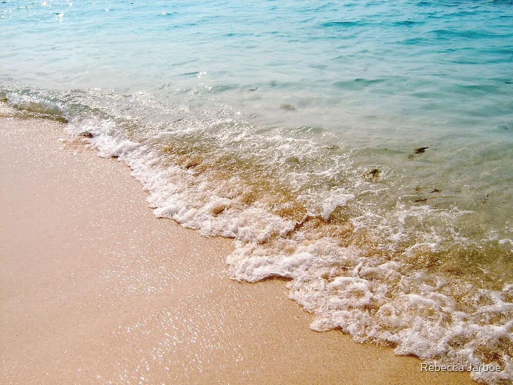 Beach in Key West by Rebecca Jarboe