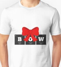Chemistry - Periodic Table Elements: BOW T-Shirt