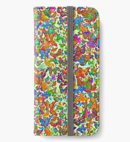 Hiding in butterflies iPhone Wallet