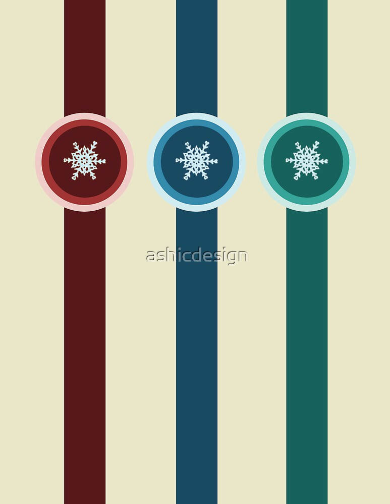 Circle Flake by ashicdesign