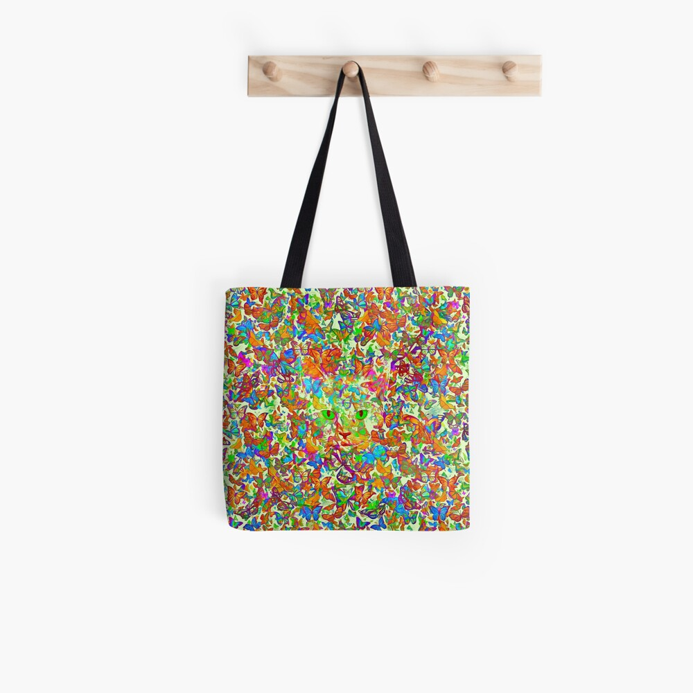 Hiding in butterflies Tote Bag