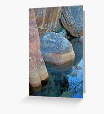 Rock & Water Greeting Card